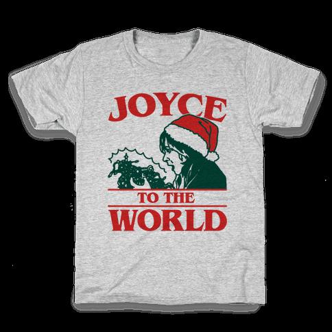 Joyce To The World Parody Kids T-Shirt