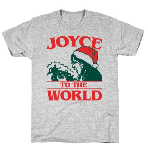 Joyce To The World Parody Mens T-Shirt
