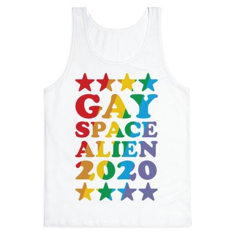 Gay Space Alien 2020 Tank Top