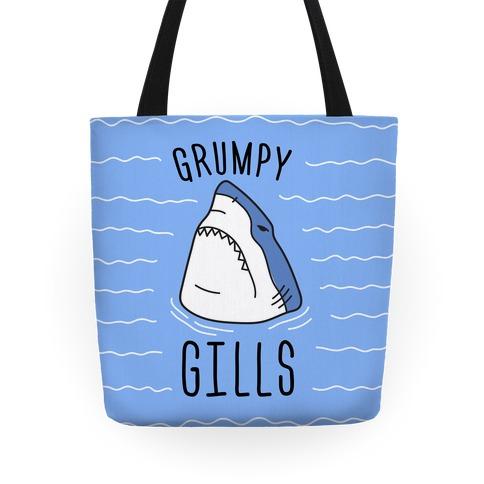 Grumpy Gills Shark Tote