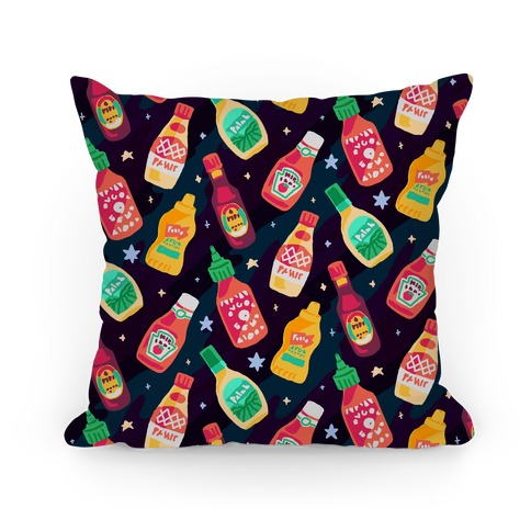 Cosmic Condiments Pillow