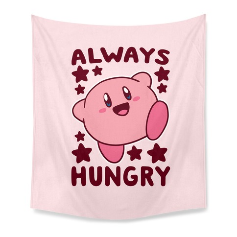 Always Hungry - Kirby Tapestry