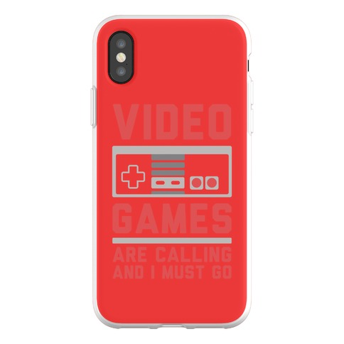 Video Games Are Calling Phone Flexi-Case