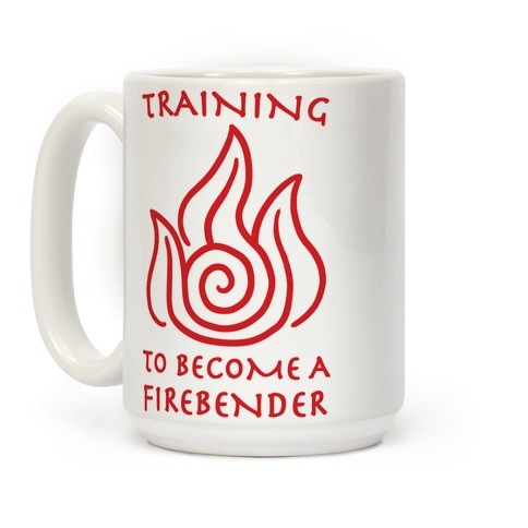 Training to Become A Firebender Coffee Mug