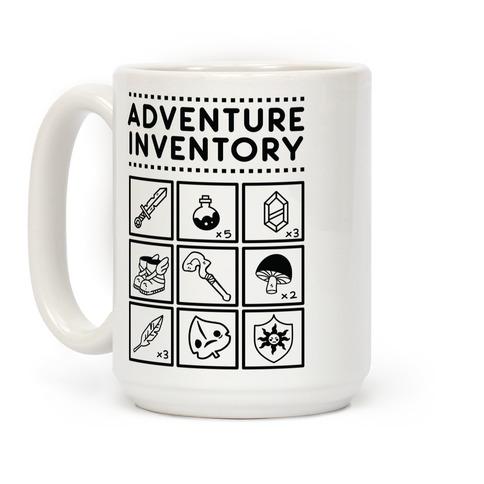 Adventure Inventory Coffee Mug