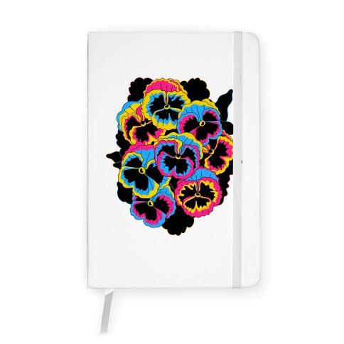 Pan-sy (Pansexual Pansies) Notebook