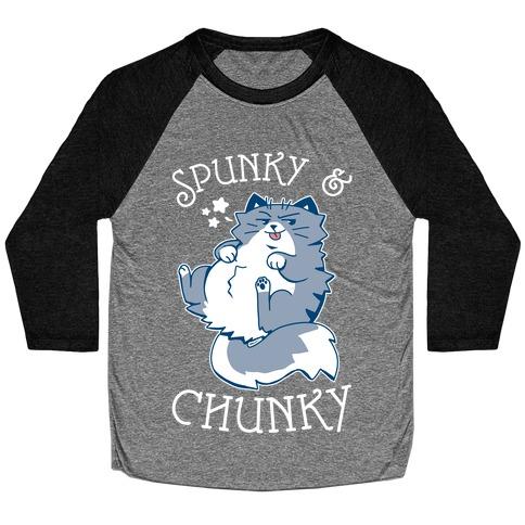 Spunky & Chunky Baseball Tee