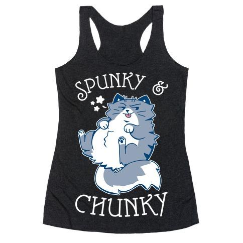 Spunky & Chunky Racerback Tank Top