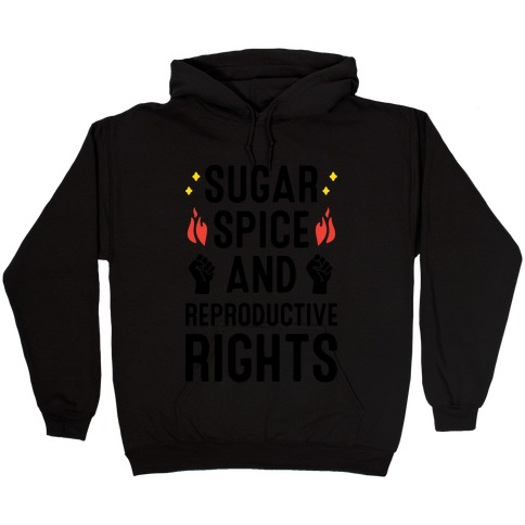 Sugar, Spice, And Reproductive Rights Hooded Sweatshirt