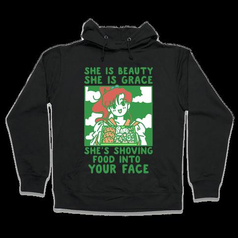 She Is Beauty Makoto Hooded Sweatshirt