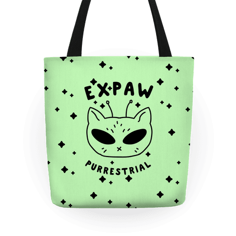 Expaw Purrestrial Tote