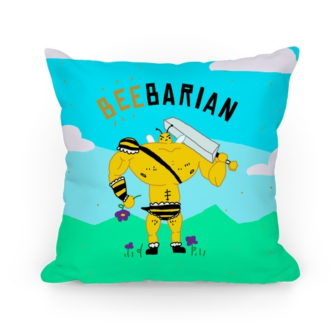 Beebarian Pillow