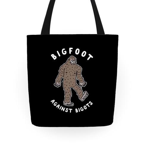 Bigfoot Against Bigots Tote