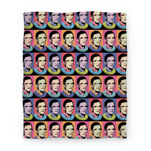 RBG Pop Art Blanket