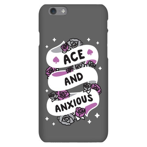Ace And Anxious Phone Case