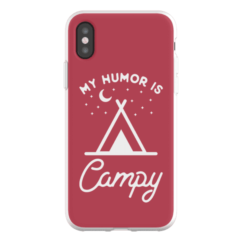 My Humor is Campy Phone Flexi-Case