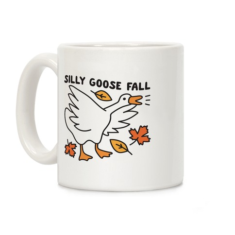 Silly Goose Fall Coffee Mug