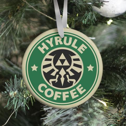 Hyrule Coffee Ornament