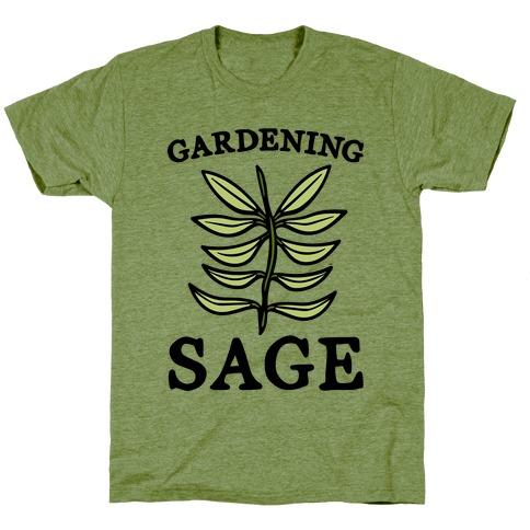 Gardening Sage T-Shirt