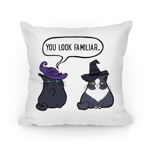 You Look Familiar Pillow
