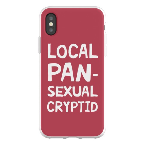 Local Pansexual Cryptid Phone Flexi-Case