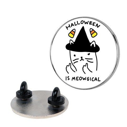 Halloween Is Meowgical pin