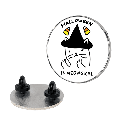 Halloween Is Meowgical Pin