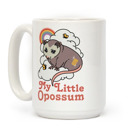 My Little Opossum  Coffee Mug