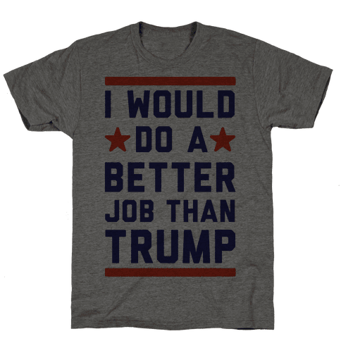 I Would Do A Better Job Than Trump