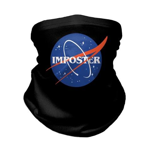 Imposter Nasa Logo Parody Neck Gaiter