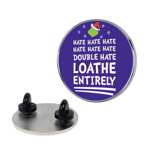 Loathe Entirely pin