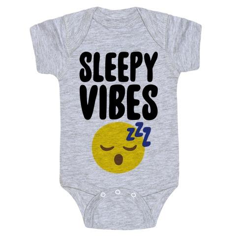 Sleepy Vibes Baby Onesy