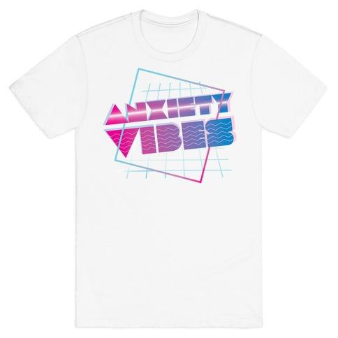 Anxiety Vibes Vaporwave T-Shirt