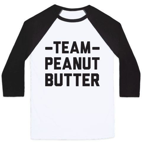 Team Peanut Butter Baseball Tee
