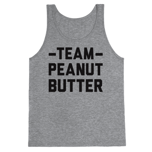 Team Peanut Butter Tank Top
