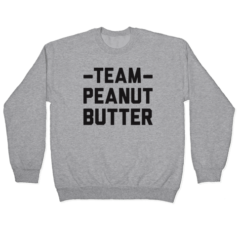 Team Peanut Butter Pullover