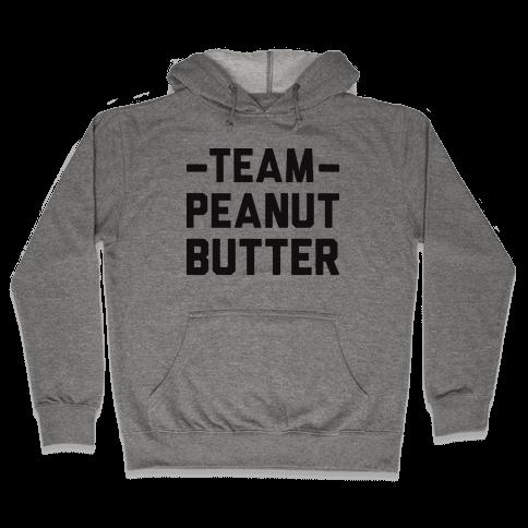 Team Peanut Butter Hooded Sweatshirt