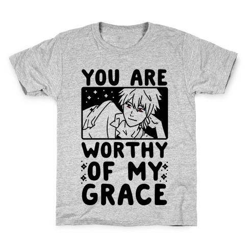 You Are Worthy of My Grace - Kaworu Kids T-Shirt