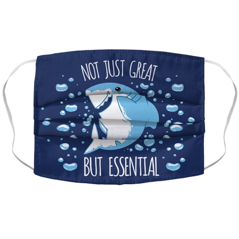 Not Just Great, But Essential Accordion Face Mask