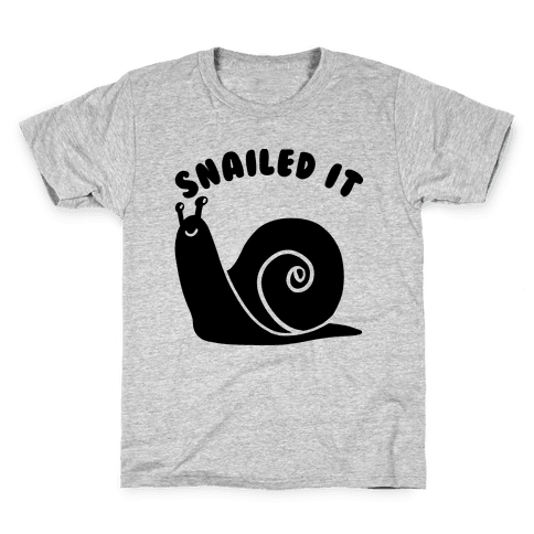 Snailed It Kids T-Shirt