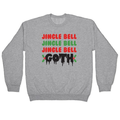 Jingle Bell Goth Pullover