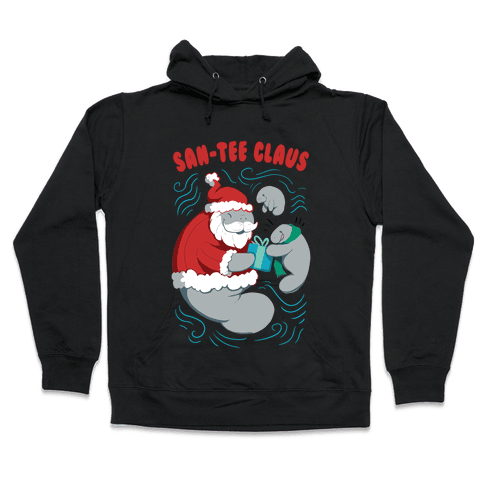 San-tee claus Hooded Sweatshirt