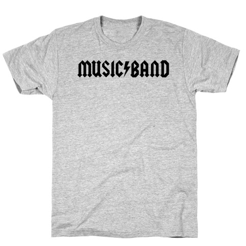 Music Band Rock Shirt Parody T-Shirt