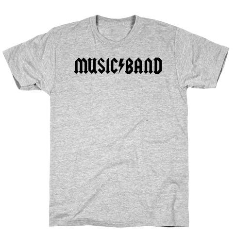 Music Band Rock Shirt Parody T-Shirt
