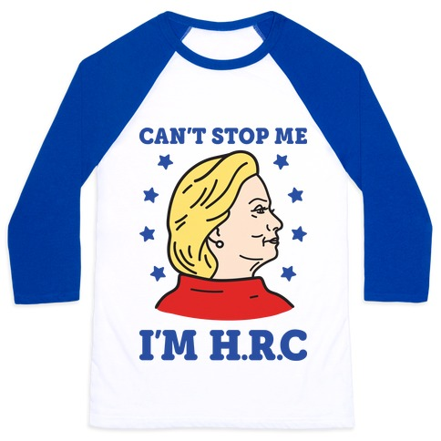 Can't Stop Me I'm HRC Baseball Tee