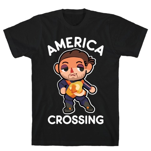 America Crossing Parody T-Shirt