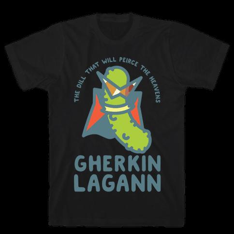 Gherkin Lagann Mens T-Shirt