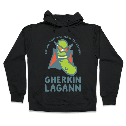 Gherkin Lagann Hooded Sweatshirt