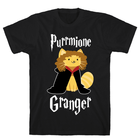 Purrmione Granger Mens T-Shirt