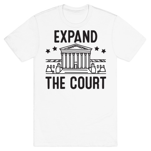 Expand The Court Mens/Unisex T-Shirt